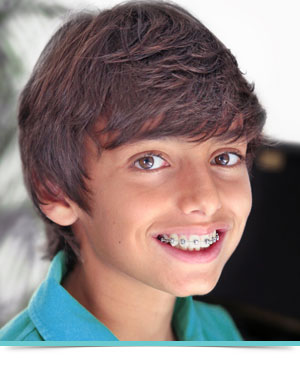 Types of Braces Boy Smile Crow Canyon Orthodontics San Ramon CA