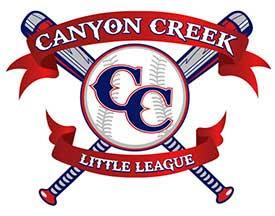 Canyon Creek Little League logo Crow Canyon Orthodontics San Ramon CA